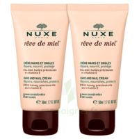 Rêve De Miel® Crème Mains Et Ongles 2*50ml à St Jean de Braye
