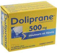 Doliprane 500 Mg Poudre Pour Solution Buvable En Sachet-dose B/12 à St Jean de Braye