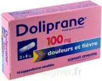 DOLIPRANE 100 mg Suppositoires sécables 2Plq/5 (10) à St Jean de Braye