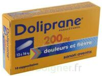 DOLIPRANE 200 mg Suppositoires 2Plq/5 (10) à St Jean de Braye