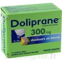 DOLIPRANE 300 mg Poudre pour solution buvable en sachet-dose B/12 à St Jean de Braye