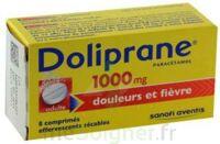 Doliprane 1000 Mg Comprimés Effervescents Sécables T/8 à St Jean de Braye