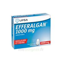 Efferalgan 1000 Mg Comprimés Pelliculés Plq/8 à St Jean de Braye