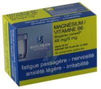 MAGNESIUM/VITAMINE B6 BIOGARAN CONSEIL 48 mg/5 mg, comprimé pelliculé à St Jean de Braye