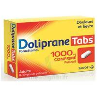 Dolipranetabs 1000 Mg Comprimés Pelliculés Plq/8 à St Jean de Braye