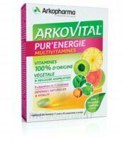 Arkovital Pur'Energie Multivitamines Comprimés dès 6 ans B/30 à St Jean de Braye