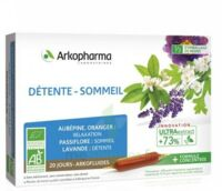 Arkofluide Bio Ultraextract Solution buvable détente sommeil 20 Ampoules/10ml à St Jean de Braye