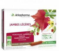 Arkofluide Bio Ultraextract Solution Buvable Jambes Légères 20 Ampoules/10ml à St Jean de Braye