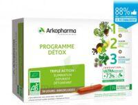 Arkofluide Bio Ultraextract Coffret Programme Détox 3x10 Ampoules/10ml à St Jean de Braye
