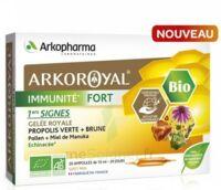 Arkoroyal Immunité Fort Solution Buvable 20 Ampoules/10ml à St Jean de Braye