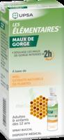 Les Elementaires Solution Buccale Maux De Gorge Adulte 30ml à St Jean de Braye
