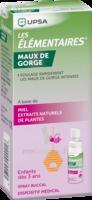 Les Elementaires Spray Buccal Maux De Gorge Enfant Fl/20ml à St Jean de Braye