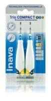 Inava Brossettes Tri Compact étroit  012 Noir 0,6mm/ Bleu 0,8mm/ Jaune 1mm à St Jean de Braye