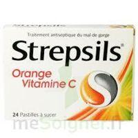 STREPSILS ORANGE VITAMINE C, pastille à St Jean de Braye