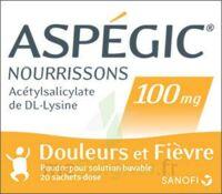 Aspegic Nourrissons 100 Mg, Poudre Pour Solution Buvable En Sachet-dose à St Jean de Braye