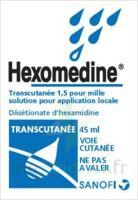 HEXOMEDINE TRANSCUTANEE 1,5 POUR MILLE, solution pour application locale à St Jean de Braye