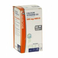 CALCIUM VITAMINE D3 BIOGARAN 500 mg/400 UI, comprimé à sucer à St Jean de Braye