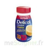 Delical Boisson Hp Hc Concentree Nutriment Vanille 4bouteilles/200ml à St Jean de Braye