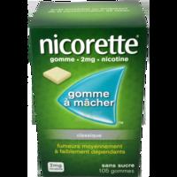 Nicorette 2 Mg Gom à Mâcher Médic Sans Sucre Menthe Fraîche Plq/105gom à St Jean de Braye