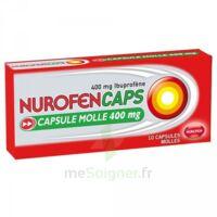 Nurofencaps 400 Mg Caps Molle Plq/10 à St Jean de Braye