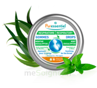 Puressentiel Respiratoire Gommes Menthe-Eucalyptus Respiratoire - 45 g à St Jean de Braye
