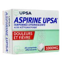 Aspirine Upsa Tamponnee Effervescente 1000 Mg, Comprimé Effervescent à St Jean de Braye