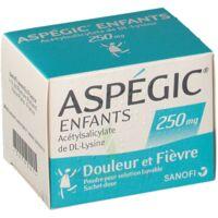 Aspegic Enfants 250, Poudre Pour Solution Buvable En Sachet-dose à St Jean de Braye