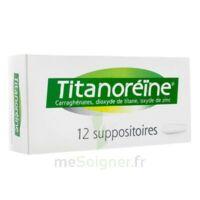 TITANOREINE Suppositoires B/12 à St Jean de Braye