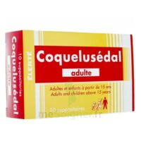 COQUELUSEDAL ADULTES, suppositoire à St Jean de Braye