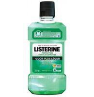 Listerine Protection Dents Gencives Bain bouche goût plus léger Fl/500ml à St Jean de Braye