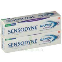 Sensodyne Rapide Pâte Dentifrice Dents Sensibles 2*75ml à St Jean de Braye
