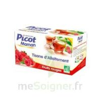 Picot Maman Tisane d'allaitement Fruits rouges 20 Sachets à St Jean de Braye