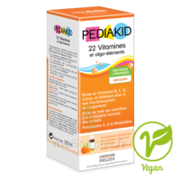 Pédiakid 22 Vitamines et Oligo-Eléments Sirop abricot orange 125ml à St Jean de Braye