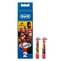 Oral B Incredibles 2 Brossette Kids Blister/2 à St Jean de Braye