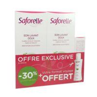 Saforelle Solution soin lavant doux 2*500ml+100ml à St Jean de Braye