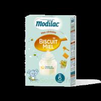 Modilac Céréales Farine Biscuit miel à partir de 6 mois B/300g à St Jean de Braye