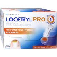 LOCERYLPRO 5 % V ongles médicamenteux Fl/2,5ml+spatule+30 limes+lingettes à St Jean de Braye
