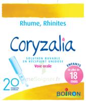 Boiron Coryzalia Solution Buvable Unidose B/20 à St Jean de Braye