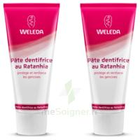 Weleda Duo Pâte Dentifrice Au Ratanhia 150ml à St Jean de Braye