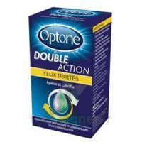 Optone Double Action Solution Oculaire Yeux Irrités Fl/10ml Promo à St Jean de Braye