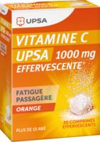 Vitamine C Upsa Effervescente 1000 Mg, Comprimé Effervescent à St Jean de Braye